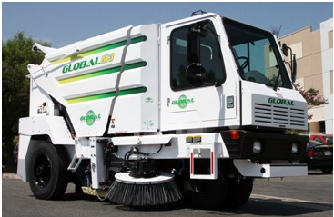 Global M3 Street Sweeper