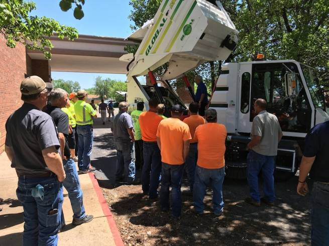 Street Sweeper Maintenance Training