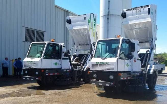 Two New Global M3 Street Sweepers Delivered