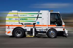 Global Environmental Partners with U.S. Hybrid to Provide Fuel Cell Sweepers to Caltrans